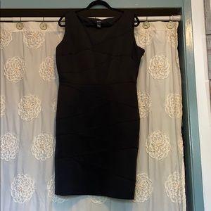 Alfani fitted black dress